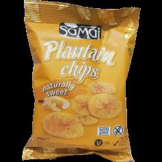 Chips à la banane plantain sucrées 75g