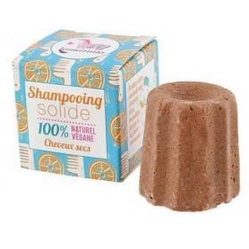 LAMAZUNA Shampoing solide pour cheveux secs 55g