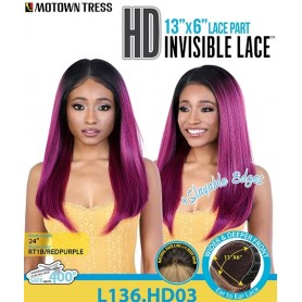 MOTOWN TRESS perruque L136.HD03 (Lace Front 13x6)