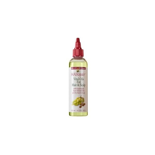 Organic Root Stimulator Huiles vitales pour cheveux HAIRepair 127.1ml