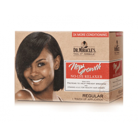 DR MIRACLE'S New Growth NORMAL relaxer kit