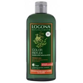 LOGONA Shampoing spécial coloration au HENNE BIO 250ml