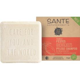 SANTE NATURKSOMETIK Shampoing solide hydratant MANGUE & ALOE VERA BIO 60g