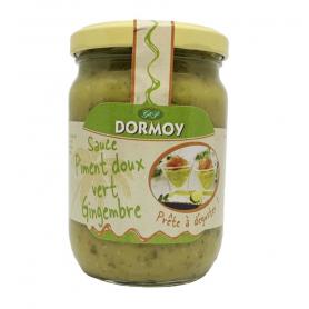 DORMOY Sauce Piment doux vert et Gingembre 270g