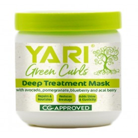 YARI Masque hydratant & réparateur GREEN CURLS 475ml