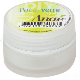 ANAE Pot en verre 15ml