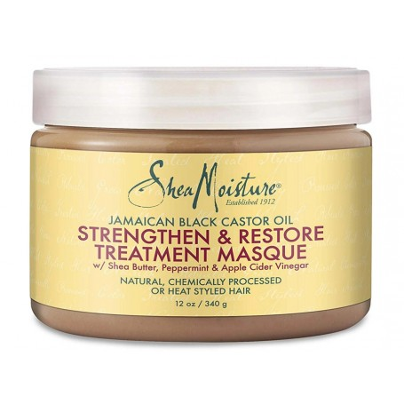 SHEA MOISTURE Masque croissance & revitalisation RICIN 340g (Treatment Masque)