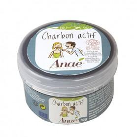 ANAE Charbon actif végétal BIO 30g