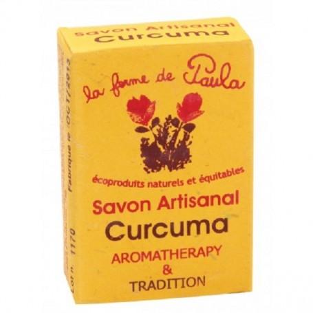 LA FERME DE PAULA Savon ayurvédique Curcuma 75g