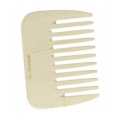 Petit peigne afro en bois denture Large