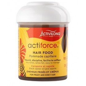 ACTIVILONG Pommade capillaire BLACK CASTOR OIL 125ml