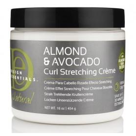 DESIGN ESSENTIALS Crème élongatrice de boucles 454g (Curl Stretching Cream)