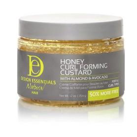 DESIGN ESSENTIALS Crème définition boucles MIEL CAMOMILLE 227g (CurlForming Custard)