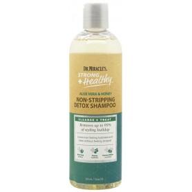 DR MIRACLE'S ALOE, HONEY & COCO Detoxifying Shampoo 355ml (Strong & Healthy)