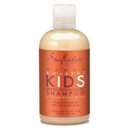 """SHEA MOISTURE Shampooing Mangue & Carotte """"Kids"""" 236ml"""