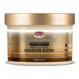 AFRICAN PRIDE Beurre Hydratant RICIN/KARITE/JOJOBA 227g (Moisture Butter)