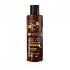 CENTIFOLIA Shampoing crème pour cheveux secs ABRICOT & JOJOBA