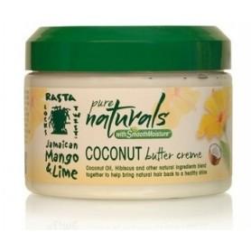 JAMAICAN MANGO & LIME PURE NATURALS Defining Butter Cream 340g COCONUT BUTTER CREAM