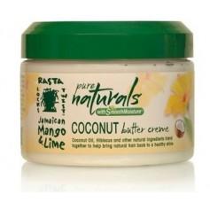 JAMAICAN MANGO & LIME PURE NATURALS Crème beurre définissante 340g COCONUT BUTTER CREME