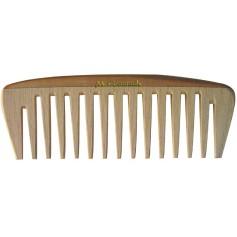 Peigne de poche en bois denture large