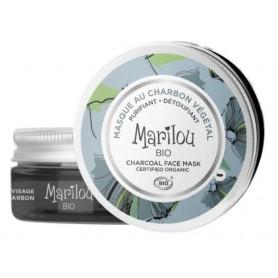 MARILOU BIO Masque purifiant peaux mixtes CHARBON VEGETAL BIO 75ml