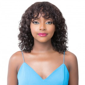 IT'S A WIG perruque WET N WAVY NATURAL DEEP WATER 14""
