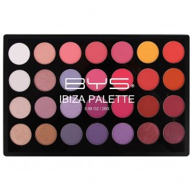 BE YOUR SELF Palette 28 fards IBIZA