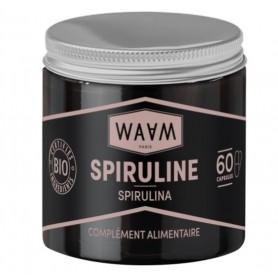 WAAM Complément alimentaire à la Spiruline BIO 60 gélules