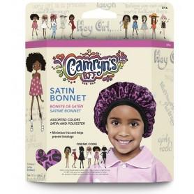 FIRSTLINE Bonnet en satin pour enfants (CAMRYN'S BFF)
