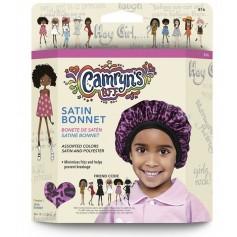 Bonnet en satin assortis pour enfants (CAMRYN'S BFF)