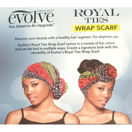 FIRSTLINE Foulard de tête ROYAL TIES WRAP SCARF (Evolve)