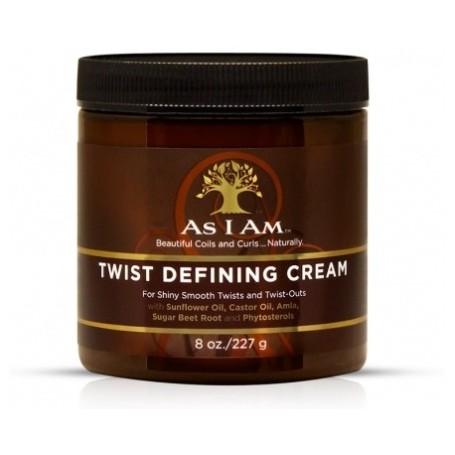 AS I AM Crème définissante pour twists 227g