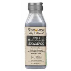 Shampooing Réparateur CHARBON/ARGILE/ALOE VERA 355ml