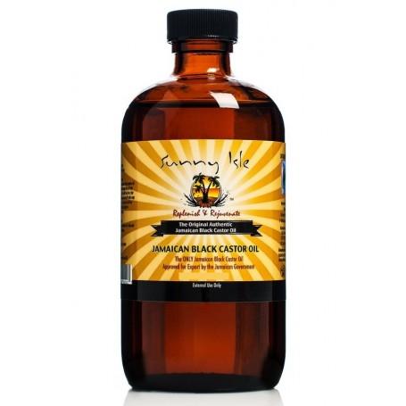SUNNY ISLE Jamaican Black Castor Oil (huile de RICIN) 178ml