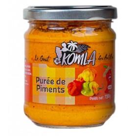 KOMLA Purée de piments antillais 190g