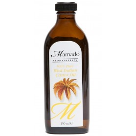 Mamado Castor Oil 100% pure (West Indian Castor) 150ml