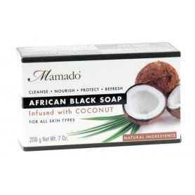 MAMADO African Black Soap COCO NUT 200g
