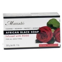 Savon noir africain ROSE 200g