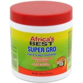 "AFRICA's BEST Soin de croissance Gingenseng et Coco 149g ""Super Gro"""