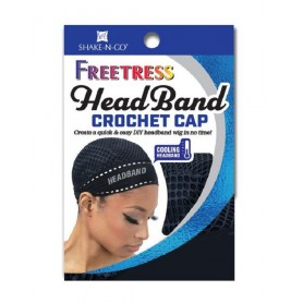 Bonnet avec bandeau et crochet HEADBAND CROCHET CAP