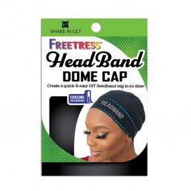 FREETRESS Bonnet avec bandeau DOME CAP HEADBAND