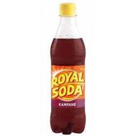 ROYAL SODA Boisson gazeuse saveur Kampane 50cl