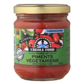 CREOLE FOOD Purée de piment végétarien CREOLE FOOD 170g