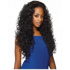 """OTHER 26"""" AMBER half wig (Quick Weave)"""