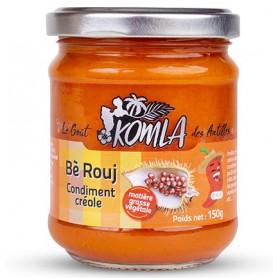 KOMLA Bè Rouj condiment créole 150g
