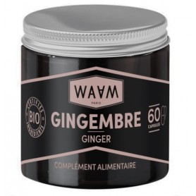 WAAM Complément alimentaire GINGEMBRE 60 capsules