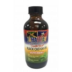 Huile de ricin noir & Menthe poivrée (Peppermint) 118ml