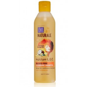 DARK & LOVELY AU NATURAL Shampooing nettoyant sans sulfate COCO MORINGA (CLEANSING SHAMPOIL MOISTURE L.O.C)