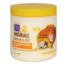 DARK AND LOVELY AU NATURAL Masque revitalisant délicieux 397g (DEEP CONDITIONING DELIGHT L.O.C)