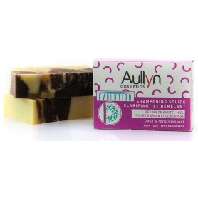 AULLYN COSMETICS Solid Shampoo 100% Natural 100g